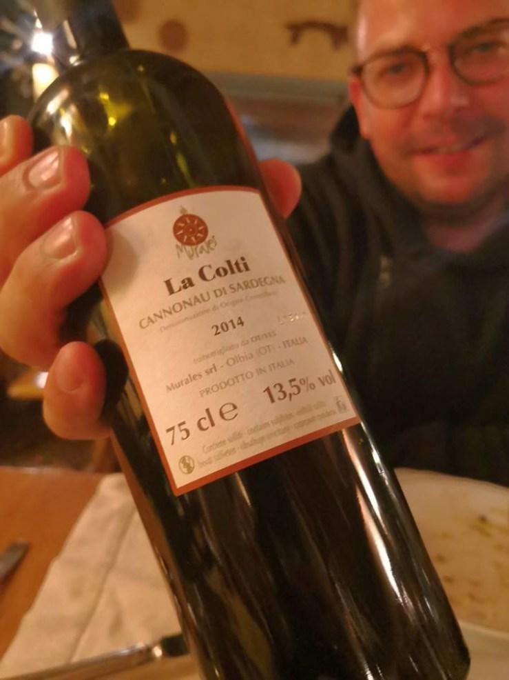 Charakterystyczne wino sardyńskie
