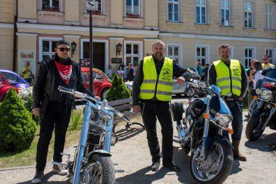 motocykliści którzy pomagali