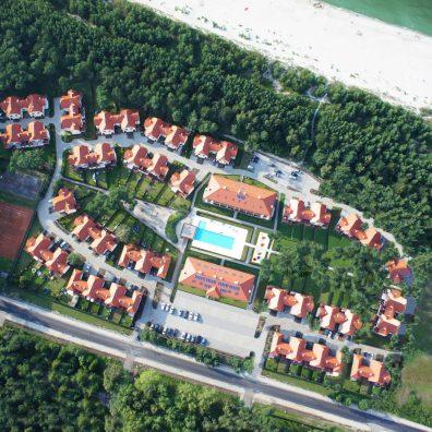 Rogowo, Rezydencja Nadmorska - widok z lotu ptaka