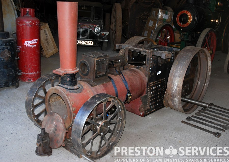 6 Inch Scale FOSTER Traction Engine