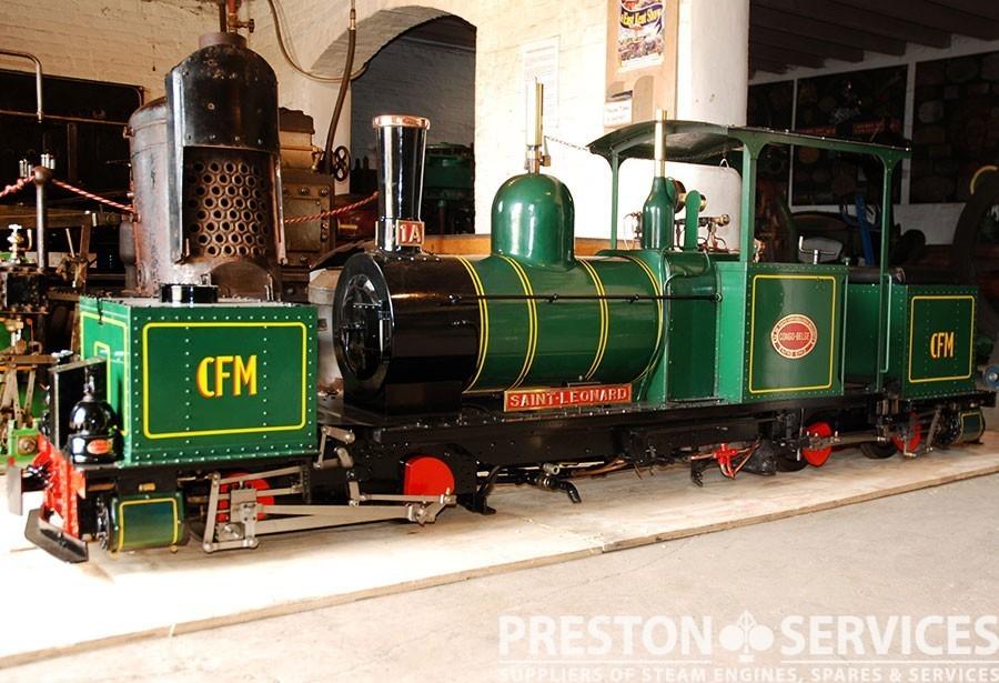 7¼ Inch Gauge GARRATT K1 0-4-0+0-4-0 Articulated Locomotive