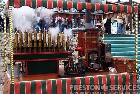 Steam Calliope Organ