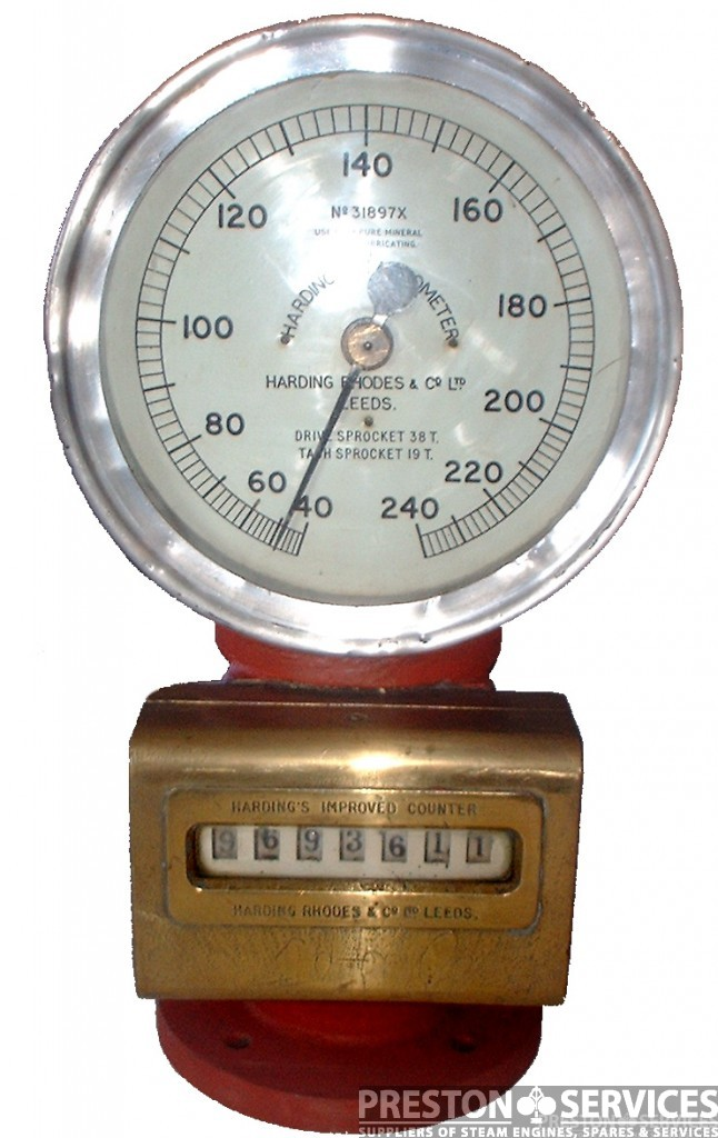 HARDING'S Combined Tachometer & Revolution Counter