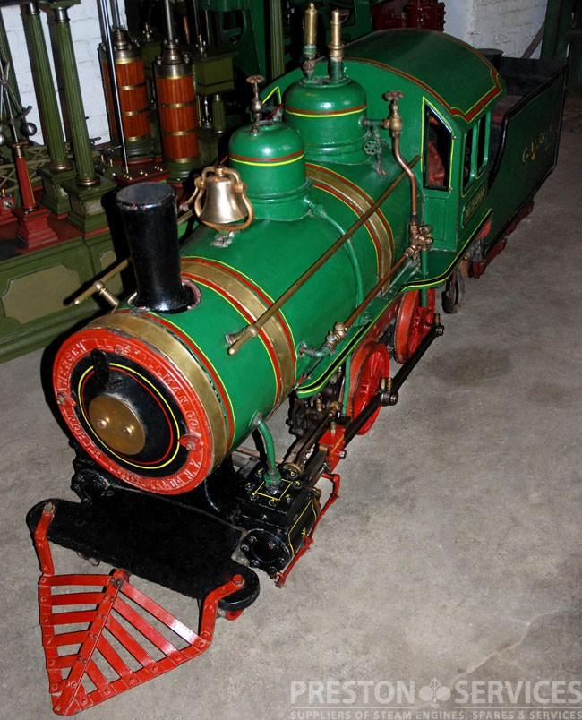 CAGNEY 15 Inch Gauge Steam Locomotive