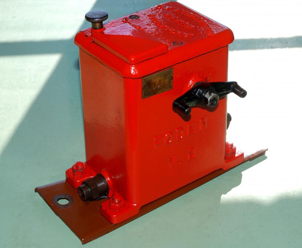 FODEN Mechanical Cylinder Lubricator