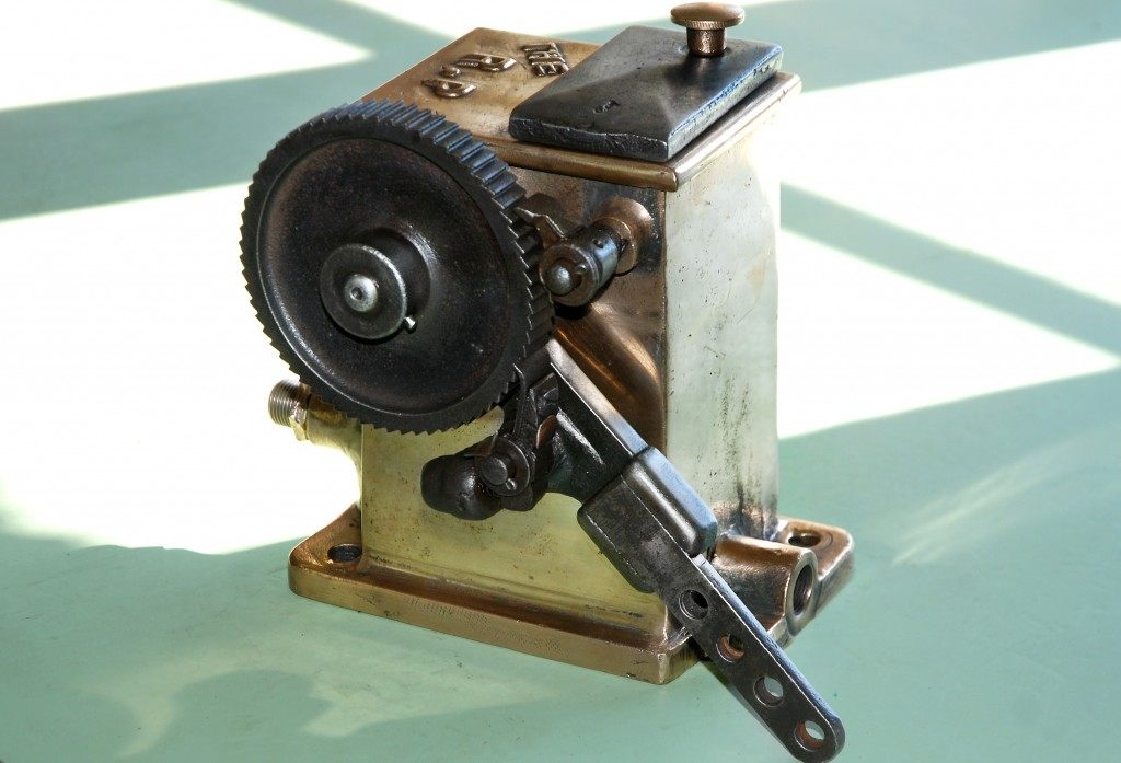"""THE R.P"" Mechanical Engine Cylinder Lubricator"
