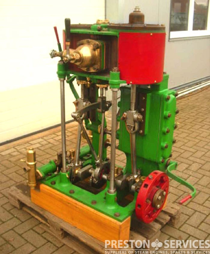Compound Steam Launch Engine