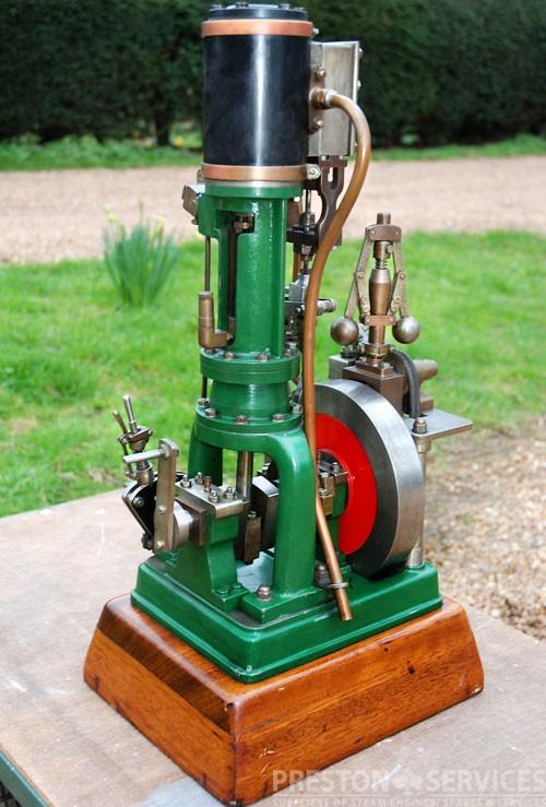 """Single Cylinder Steam Engine 1¾"""" x 2¾"""""""