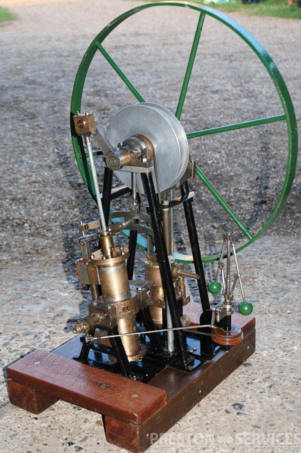 OSCILLATING Single Cylinder True Vertical