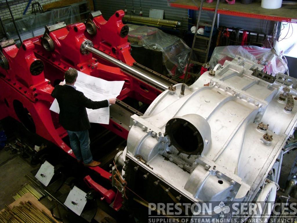 Paddlesteamer Engine