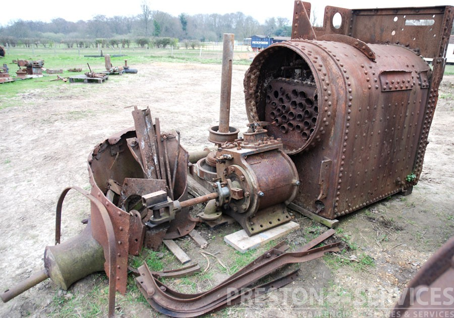 RANSOMES, SIMS & JERFFERIES Traction Engine