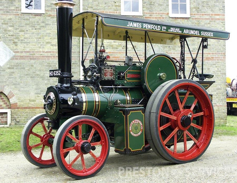 WALLIS & STEEVENS Steam Tractor