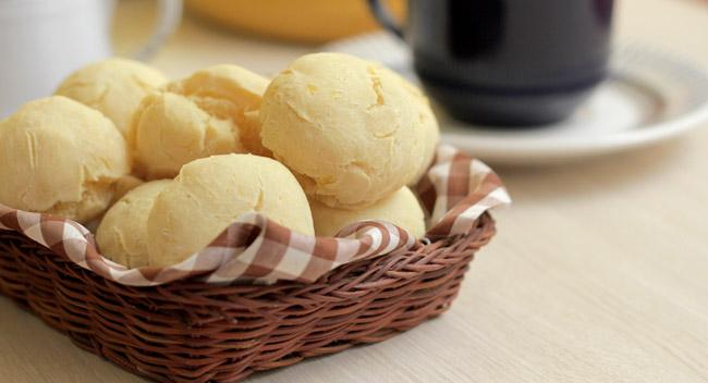 Pão sem Queijo (Pão de Queijo Vegano)