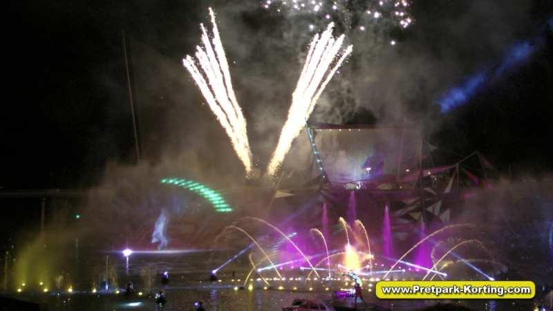 Futuroscope pretpark Frankrijk - Show: La Forge Aux Étoiles