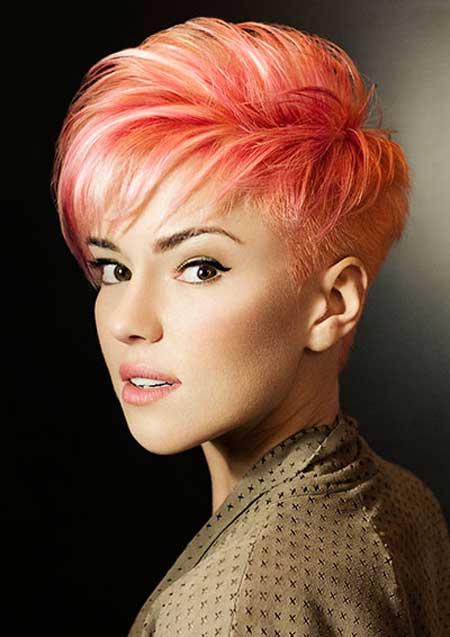 Smashing Short Haircuts And Fall 2014 Hair Color Trends