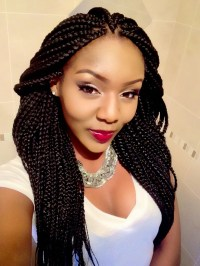 Cool Box Braids Hairstyles 2016