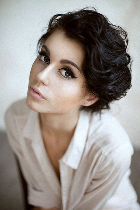 Short Pixie On Black Hair Adorable Fashionable Short Hairstyles For Women Pretty