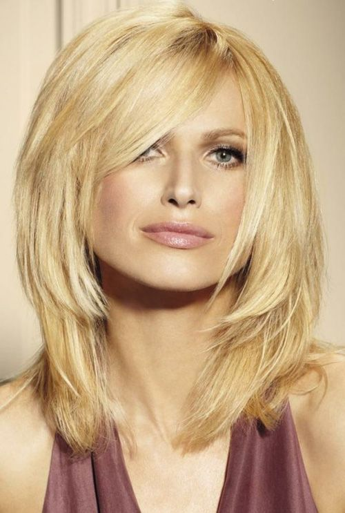 Hairstyles For Hair Cut In A Bob 14 Trendy Medium Layered Hairstyles Pretty Designs