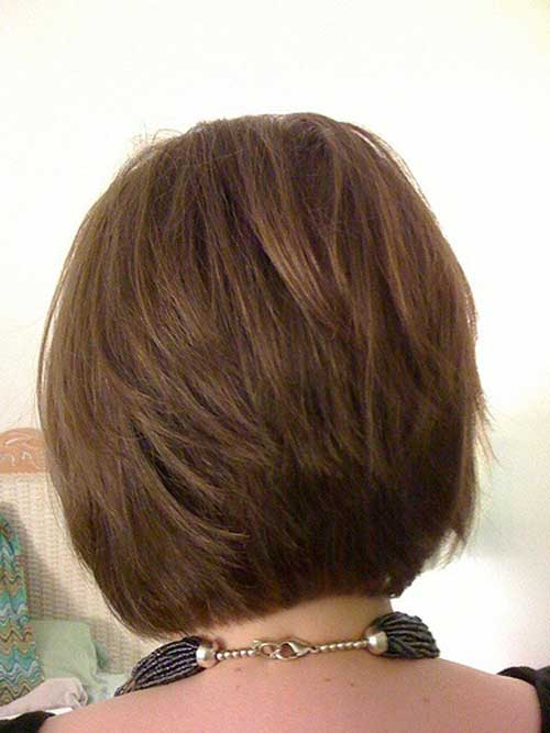 Bob Hairstyles The Back View 30 Stacked A Line Bob Haircuts You May Like Pretty Designs