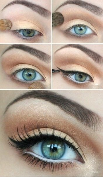 Dark Brown Red Balayage 15 Spring Makeup Ideas For Green Eyes Pretty Designs