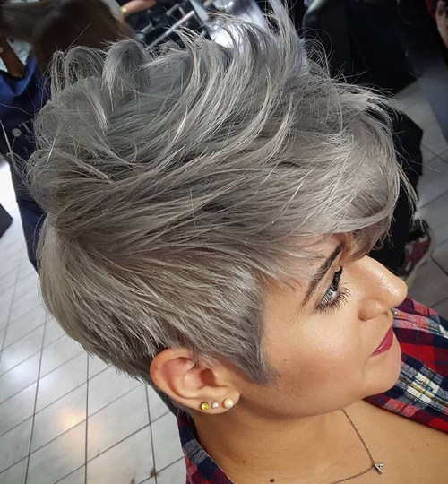 Bob Cut Haircuts 18 Ideas To Style A Grey Hair Look Pretty Designs