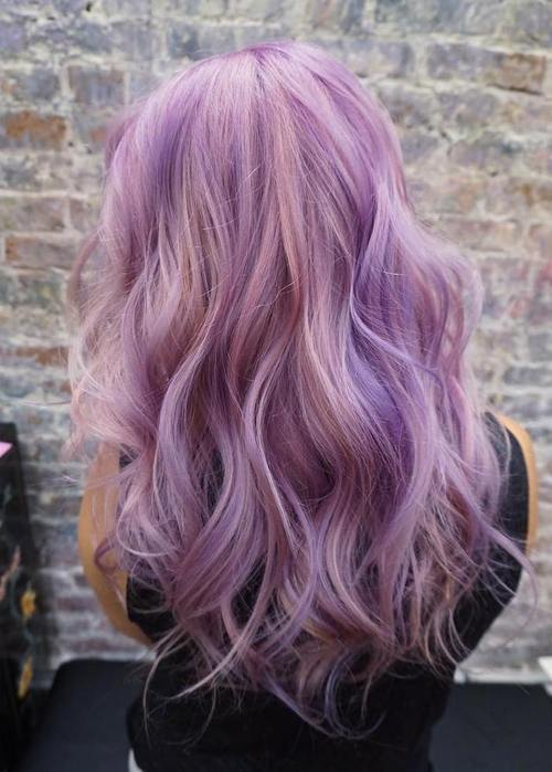 Lila Silber Haare 22 Sassy Purple Highlighted Hairstyles (for Short, Medium