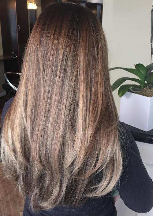 Balayage Glatte Haare 45 Balayage Hair Color Ideas 2019 - Blonde, Brown, Caramel