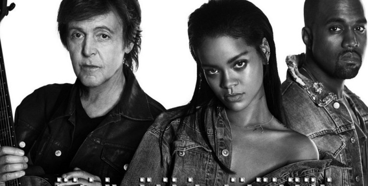 Rihanna, Kanye West and Paul McCartney - FourFiveSeconds