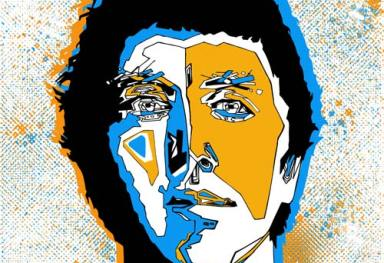 'David Kitt' Screenprint