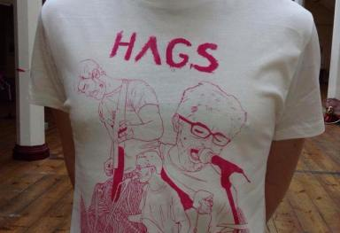'Hags' Screenprint Band Tshirts