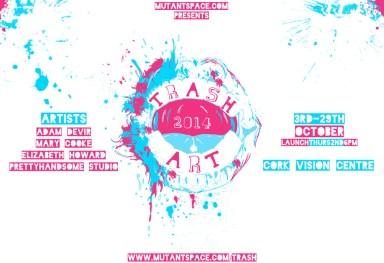 'Trash Culture festival' poster design