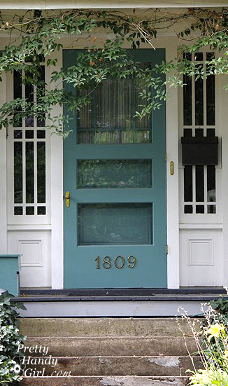 What Color Shutters Go With A Yellow House Go Bold Or Go Home! Show Your True Colors. - Pretty Handy Girl