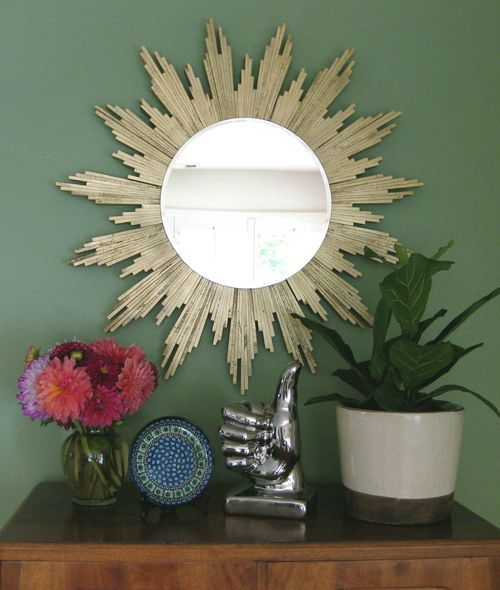Sonnenspiegel Gold 30 Amazing Diy Decorative Mirrors - Pretty Handy Girl