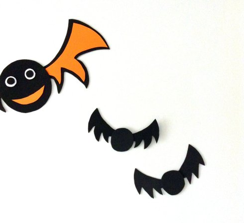 Deco facile halloween archives prettylittletruth blog - Deco chauve souris halloween ...