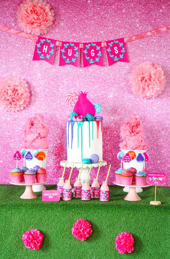 Baby Twins Gift Ideas Trolls Birthday Party Inspiration