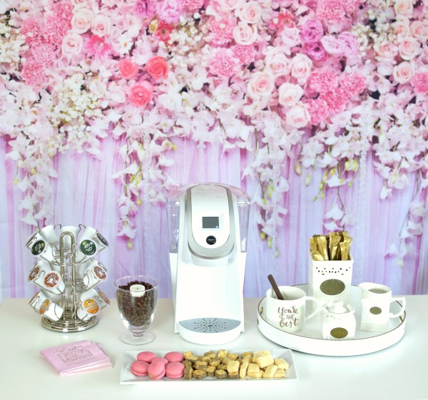 Baby Twins Gift Ideas How To Set Up A Bridal Shower Coffee Bar Pretty My Party