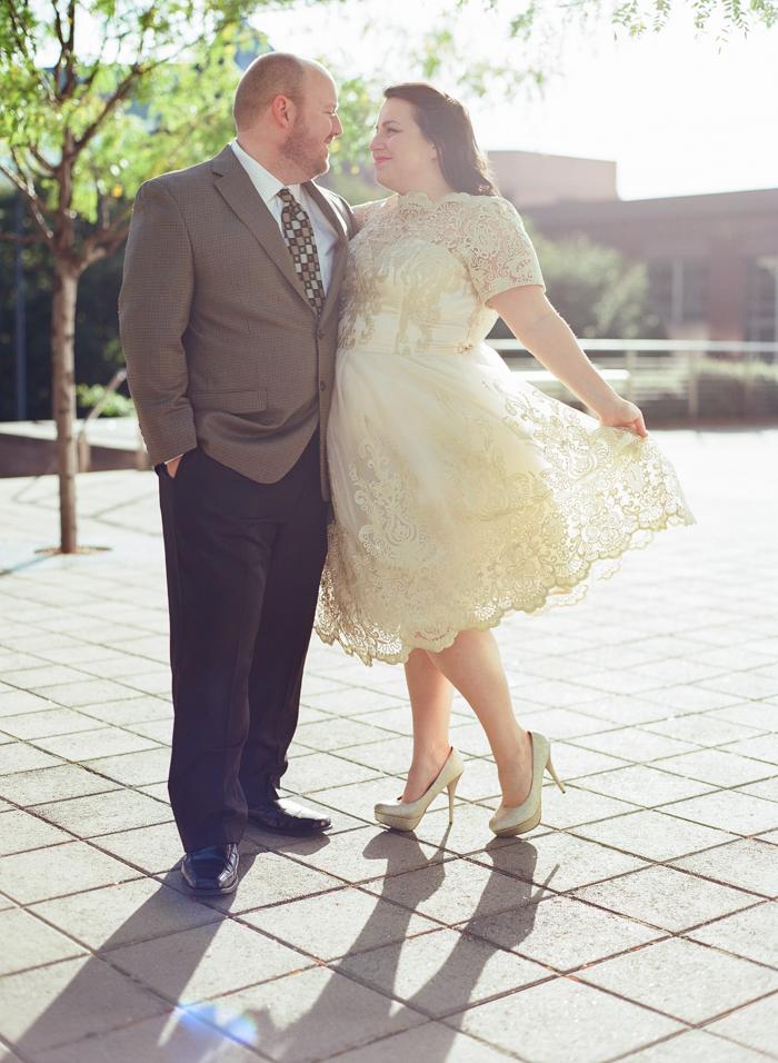 {Real Curvy Engagement} Nashville Sassy Meets Sweet Engagement Session | Emily Katharine Photography