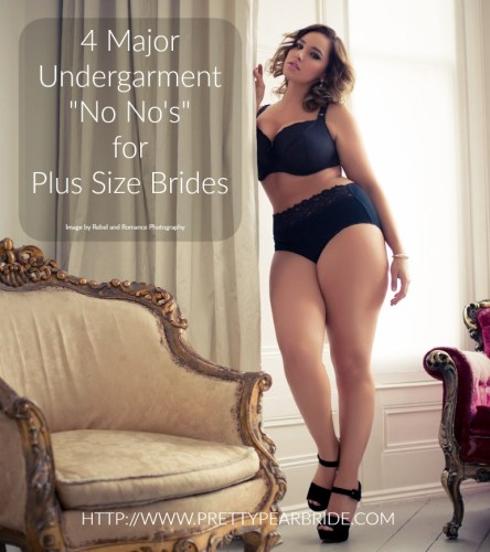 plus size lingerie, plus size boudoir, pretty pear bride