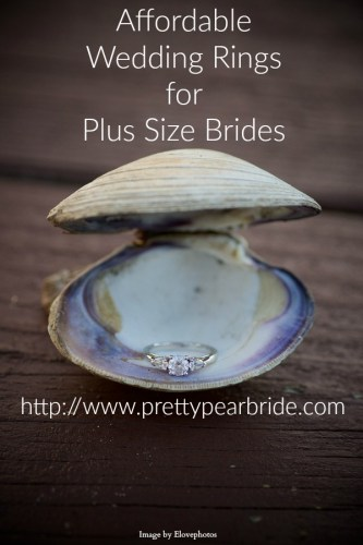 Affordable Wedding Rings for the Plus Size Bride