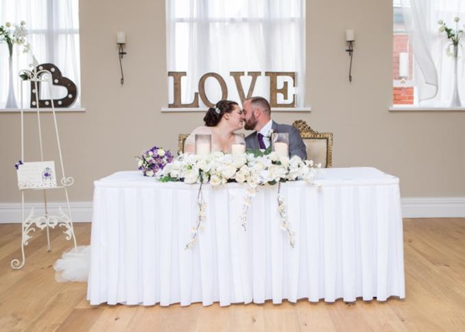 REAL WEDDING | Pink, Lilac and Gray United Kingdom Castle Wedding | Bancroft Photography | Pretty Pear Bride
