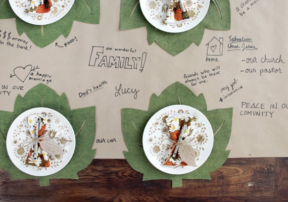 Thanksgiving Table Ideas Centerpiece Place Setting Decor