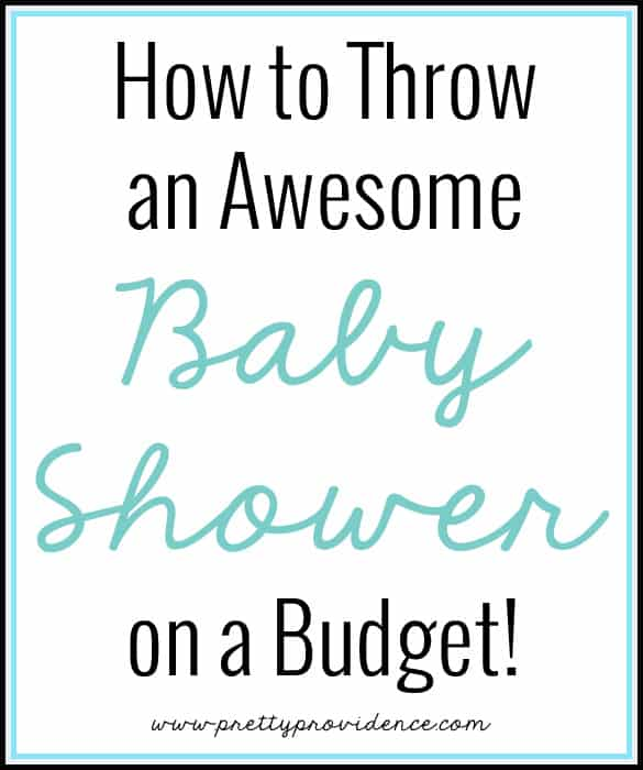 How to Throw a Baby Shower on a Budget!