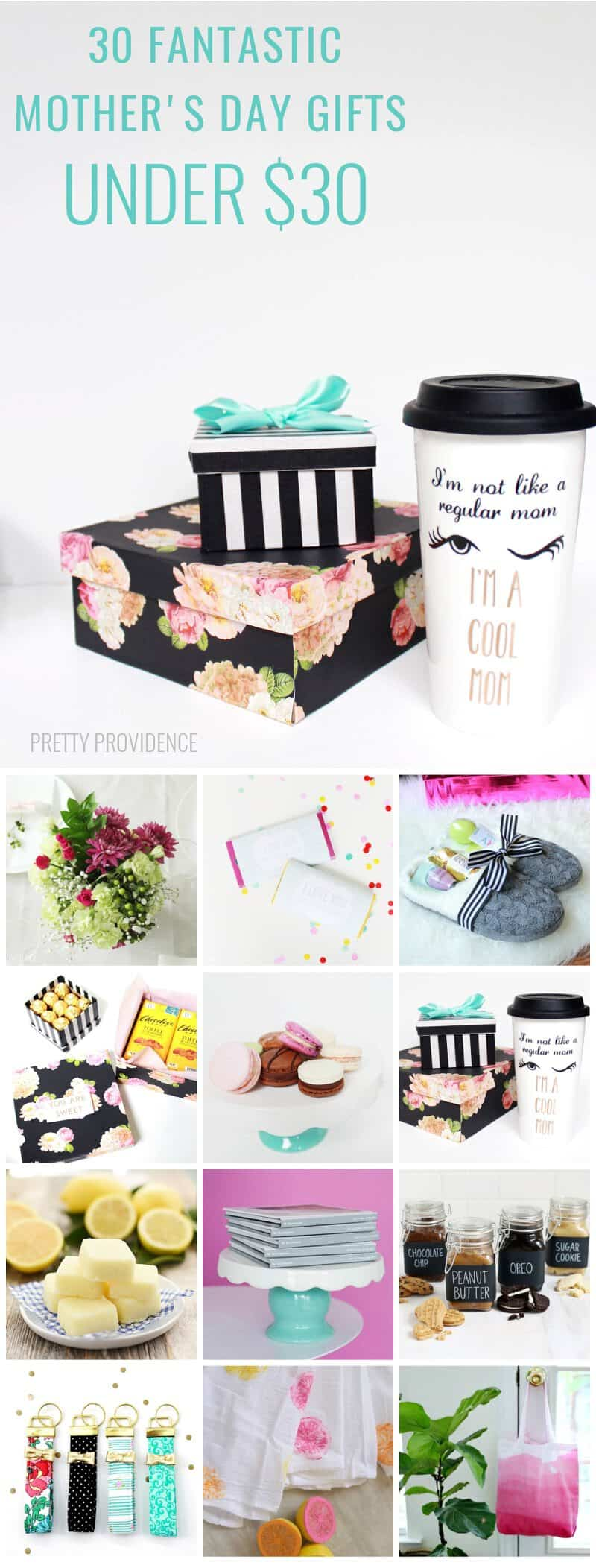 Awesome Diy Mother's Day Gifts 30 Mother S Day Gifts 30 And Under Pretty Providence