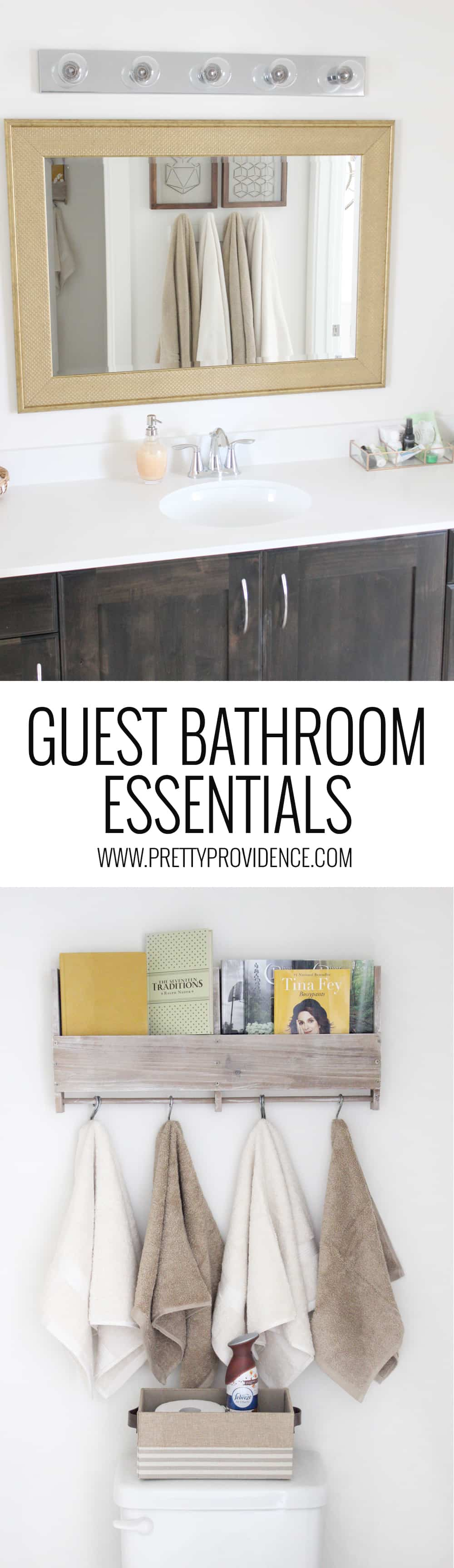 Bathroom Essentials Guest Bathroom Essentials