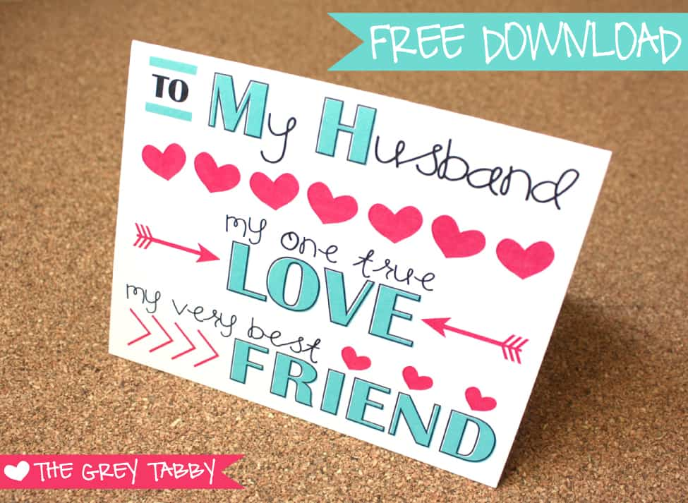Free Printable Valentine\u0027s Day Cards - printable anniversary cards for him
