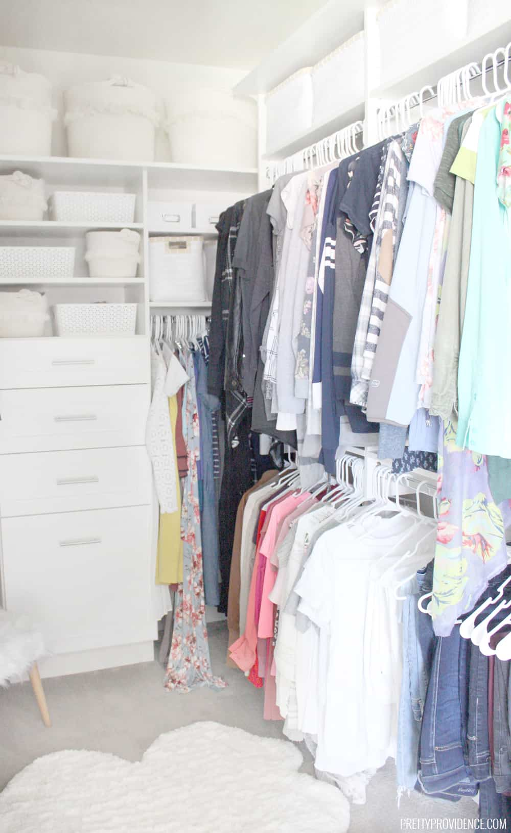 Space Saving Wardrobe Ideas Walk In Closet Ideas How To Make Your Closet Work For You