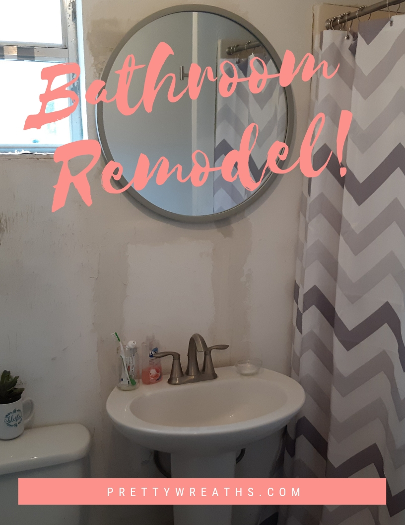 Small Bathroom Makeover Small Bathroom Makeover Project Of A Scary Bathroom