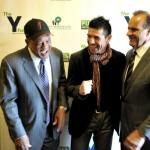Willie Mays, Sergio Martinez, and Joe Torre