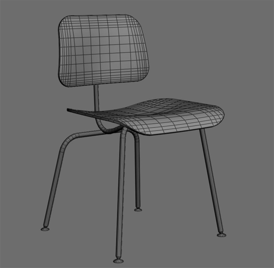 Silla Dwg Silla Lateral Eames Modelo 3d 20 Max Fbx Obj Dwg 3ds Free3d