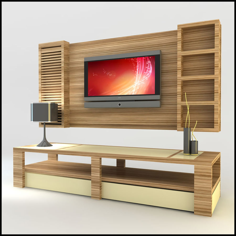 Meuble Tv Max Meuble Tv Design Moderne X 14 Modèle 3d 25 Unknown Obj Dwg